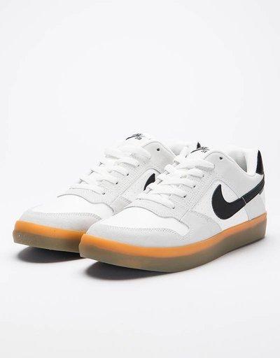Nike SB Delta Force Vulc summit white/black-gum light brown