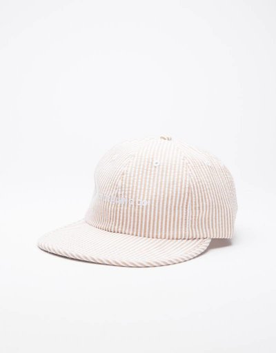 Pop Trading Co Script Flexfoam Sixpanel Cap Tan