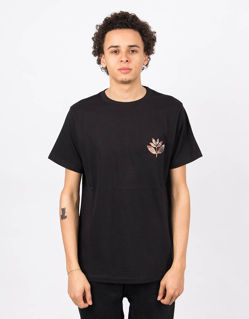 Magenta Klimt T-shirt Black