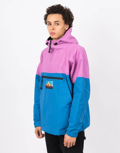 Parra 1987 Windbreaker Jacket Blue/Purple