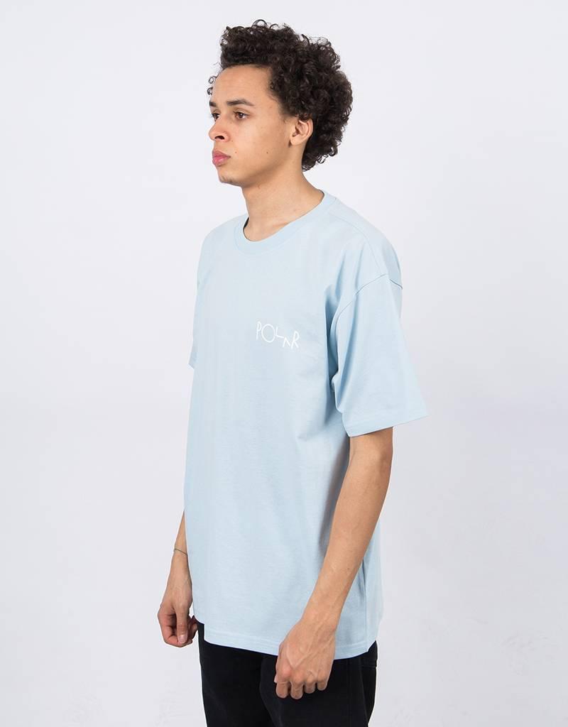 Polar Stroke Logo T-Shirt Light Blue