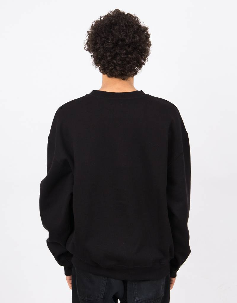 Polar American Fleece Crew Black