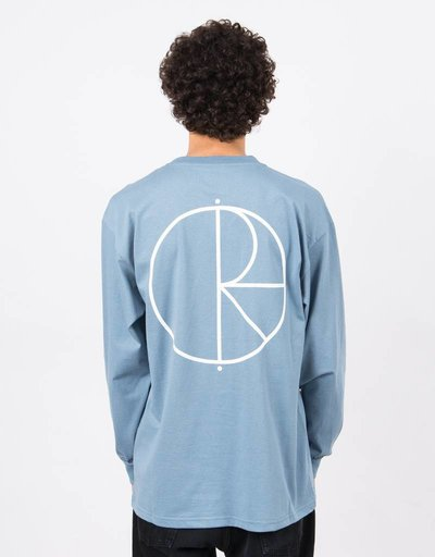Polar Stroke Logo Longsleeve Captains Blue
