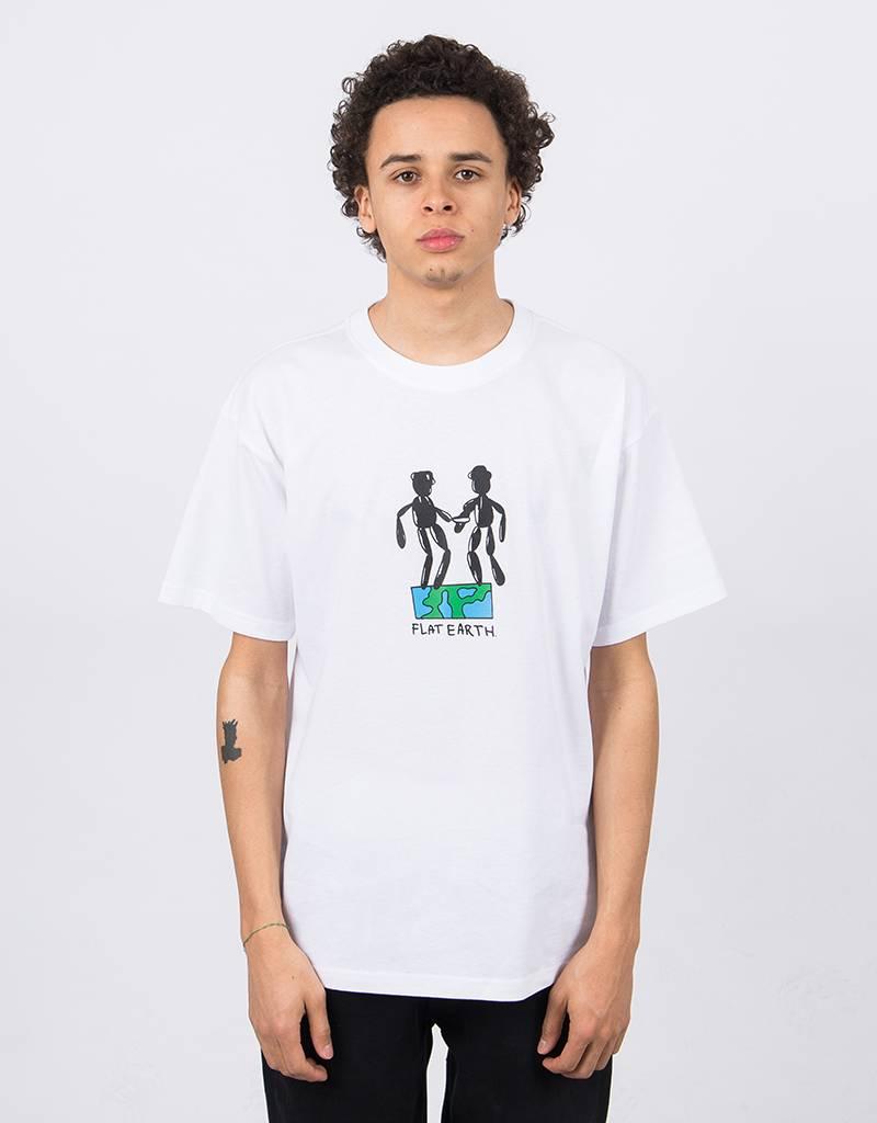 Polar Flat Earth T-Shirt White