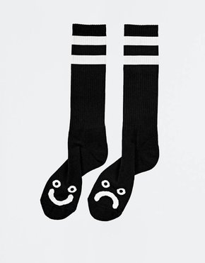 Polar Polar Happy Sad Socks Black