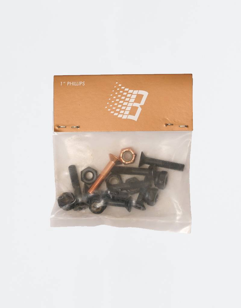 "Bronze Philips 1"" Bolts"