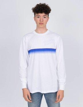 Nike SB Nike SB X Quartersnacks Longsleeve T-Shirt white/royal pulse