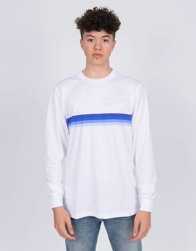 Nike SB X Quartersnacks Longsleeve T-Shirt white/royal pulse