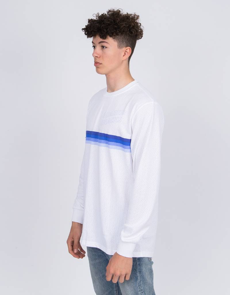 Nike SB X Quartersnacks Longsleeve T-Shirt white/royal pulse