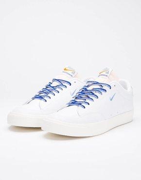 Nike SB Nike SB X Quartersnacks Zoom Blazer Low XT white/university blue-sail