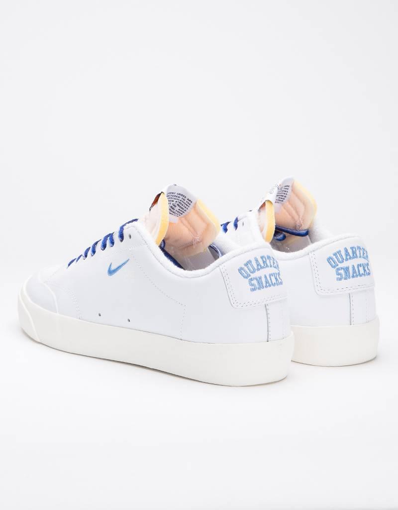 Nike SB X Quartersnacks Zoom Blazer Low XT white/university blue-sail