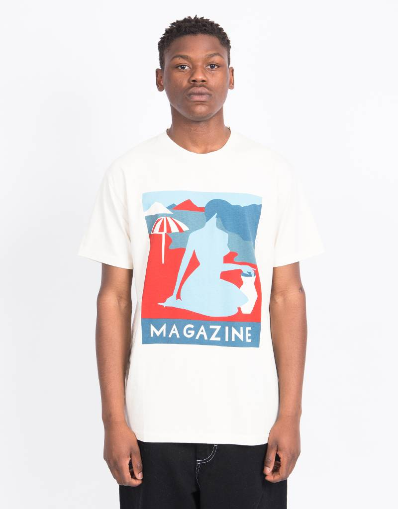 Parra Girl Magazine T-Shirt Natural