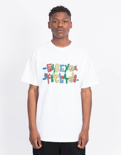 Evisen Fulfill The Dream T-shirt White