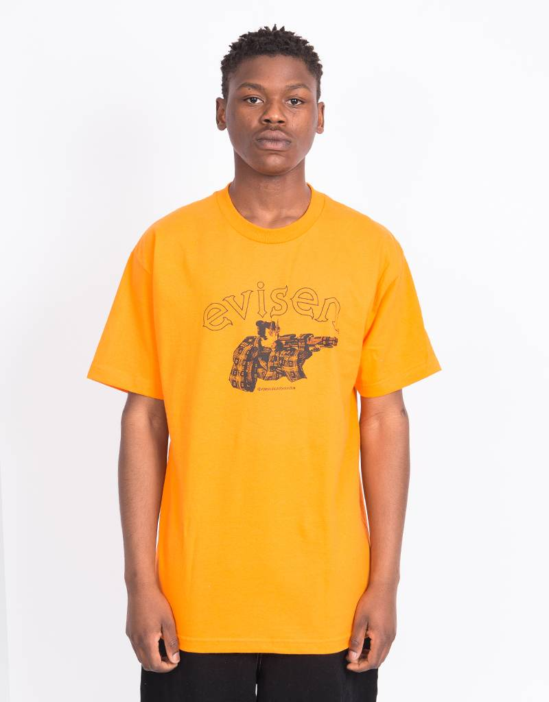 Evisen Dirty Evi Taro T-shirt Orange
