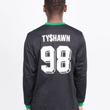 Adidas TYSHAWN JERSEY BLACK/GREEN