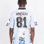 Adidas Gonzales Jersey BLACK/WHITE/CLBLUE/M