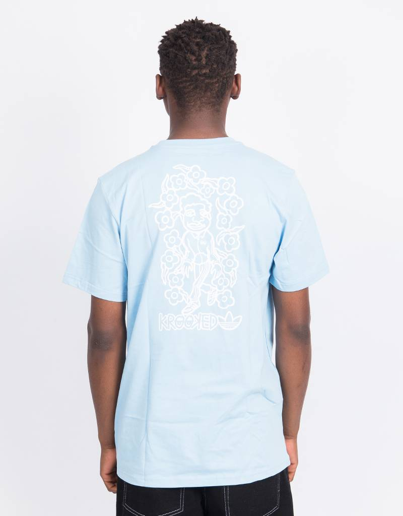 Adidas x Krooked Tee Clblue/White