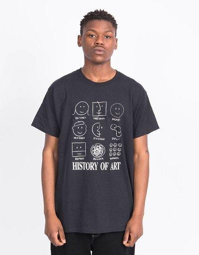 Free Wifi Art Hisory T-shirt Black