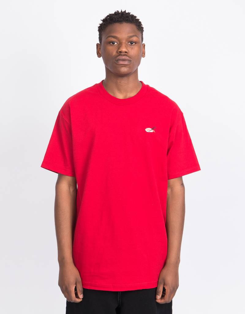 Evisen Sushi T-shirt Cardinal