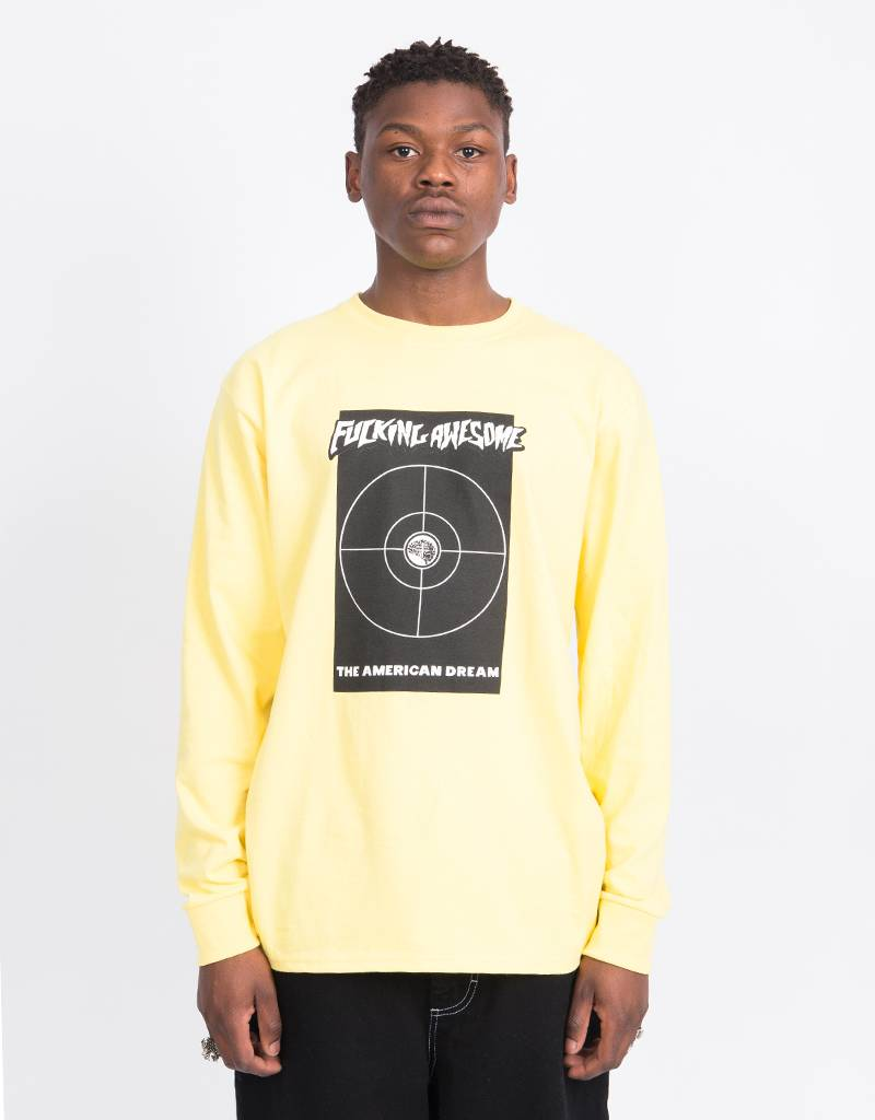 Fucking Awesome American Dream Longsleeve Yellow