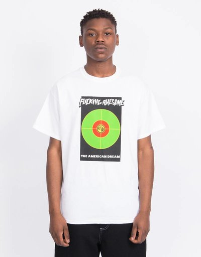 Fucking Awesome American Dream T-Shirt White/ColornLogo