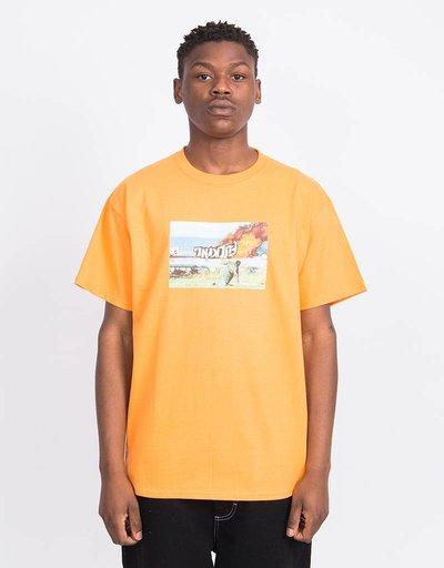 Fucking Awesome Car Burn T-Shirt Orange Sherbert