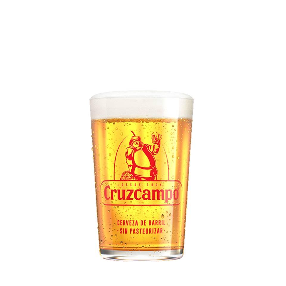 Cruzcampo gläser (6 STÜCK)