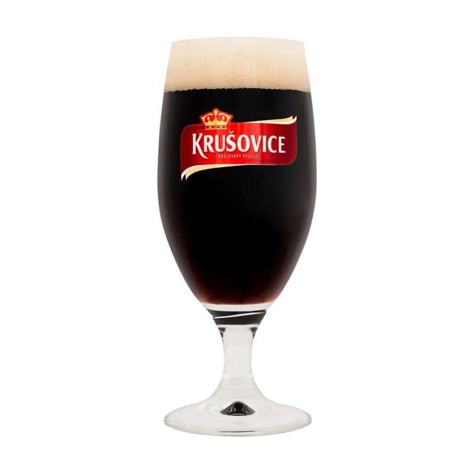 Gläser  Krušovice (6 Stück)