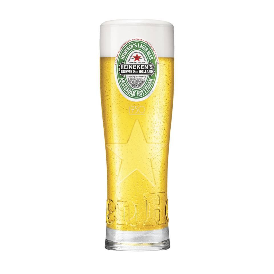 Heineken Legacy glasses (4 PCS)