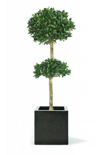 Kunstplant Laurier dubbel bol op stam 2.10m