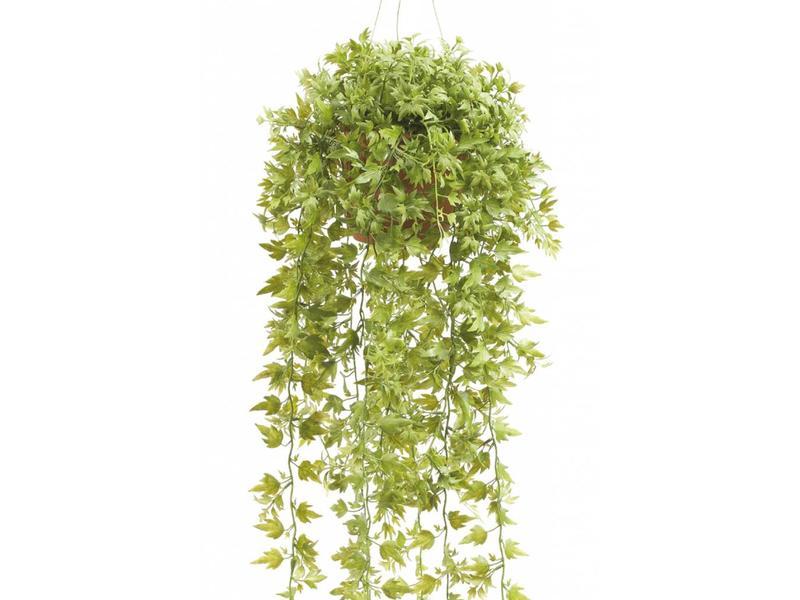 Kunst hangplant klimop 50cm in pot