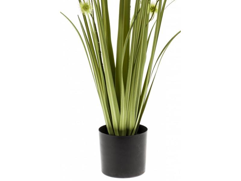 Kunst grasplant pompom 85cm