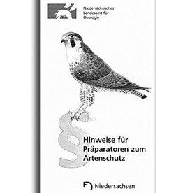 HINW. F. PRÄPARATOREN ZUM ARTENSCHUTZ