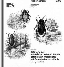 ROTE LISTE WASSERKÄFER NIEDERSACHS./HB (3/96)