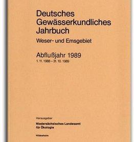 DGJ WESER-EMSGEBIET 1989