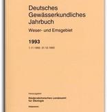 DEUTSCHES GEWÄSSERKUNDLICHES JAHRBUCH WESER-EMSGEBIET 1993