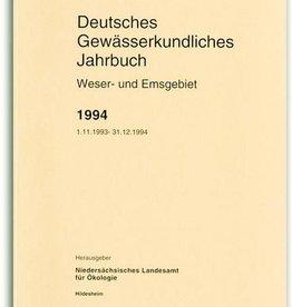 DGJ WESER-EMSGEBIET 1994