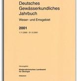 DEUTSCHES GEWÄSSERKUNDLICHES JAHRBUCH WESER-EMSGEBIET 2001