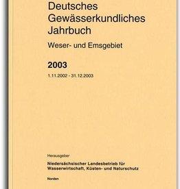 DGJ WESER-EMSGEBIET 2003