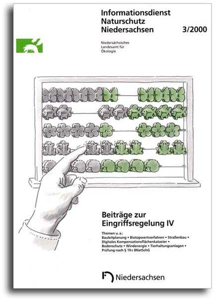BEITRÄGE ZUR EINGRIFFSREGELUNG IV (3/2000)