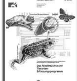 DAS NIEDERSÄCHSISCHE TIERARTEN-ERFASSUNGSPROGRAMM (5/01 SUPPLEMENT TIERE)