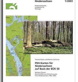 PNV-KARTEN FÜR NIEDERSACHSEN (1/03)