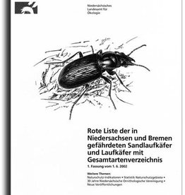 ROTE LISTE (SAND-)LAUF- KÄFER NDS/HB (2/03)