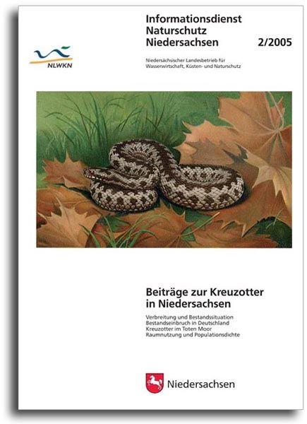 BEITRÄGE ZUR KREUZOTTER IN NIEDERSACHSEN (2/05)