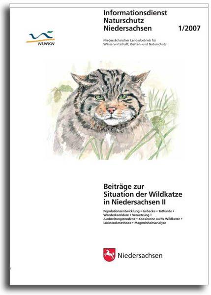 BEITRÄGE ZUR SITUATION DER WILDKATZE IN NIEDERSACHSEN II (1/07)