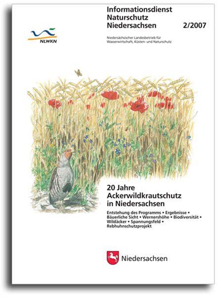 20 JAHRE ACKERWILDKRAUTSCHUTZ IN NIEDERSACHSEN (2/07)