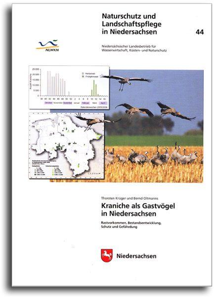 KRANICHE ALS GASTVÖGEL IN NIEDERSACHSEN (HEFT 44)