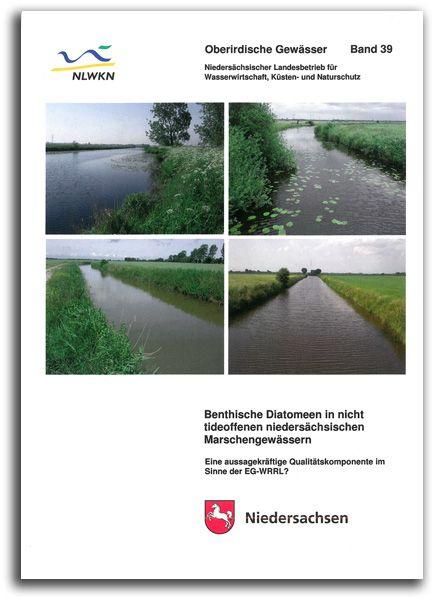 Benthische Diatomeen in nicht tideoffenen niedersächsischen Marschengewässern