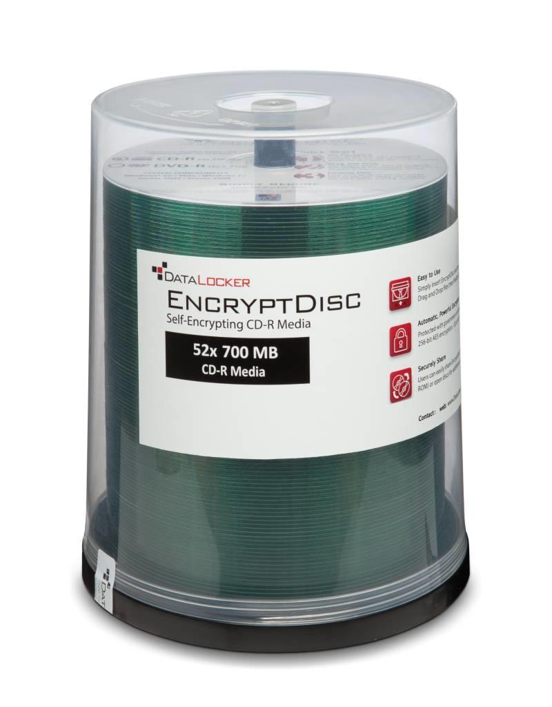 DataLocker DataLocker EncryptDisc - Encrypted CD 100 Pack