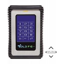 DataLocker DataLocker DL3 FE 2TB hardwarematig versleutelde externe harde schijf (FIPS Edition) met 2-voudige 256-Bit hardwarematige AES Encryptie